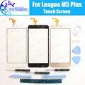 Leagoo M5 Плюс Сенсорного Экрана Digitizer 100% Гарантия Оригинальное Дигитайзер Стекла Сенсорная Панель Замена Для Leagoo M5 Плюс + Инструменты