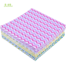 12pcs/lot Printed Felt Non Woven Fabric 1mm Thickness Polyester Cloth For Sewing Dolls Home Decoration Pattern Bundle 15x15cm