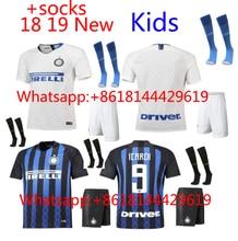 799e2cbf5 2018 2019 kids Inter Milan jersey Home Away football camisetas Thai AAA  shirt survetement football Soccer
