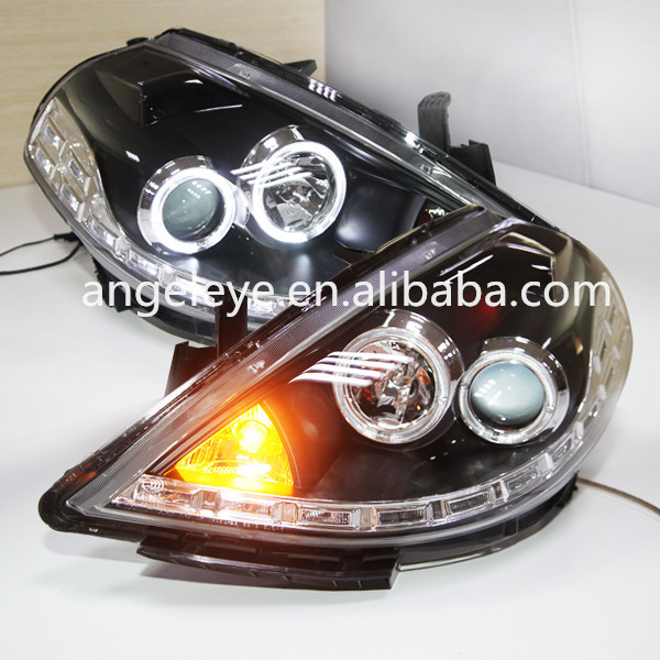 2008 2010year For Nissan Tiida Nissan Versa Led Angel Eyes