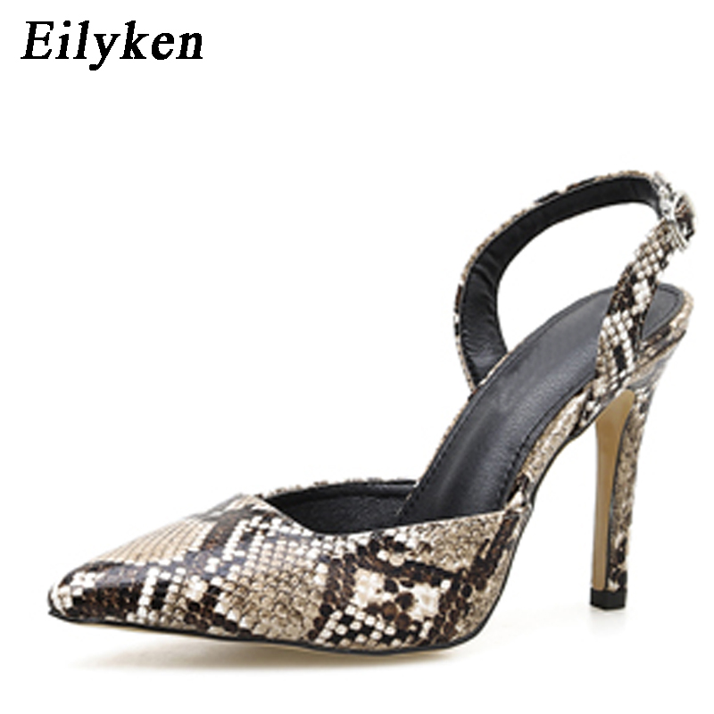 Eilyken High Quality Women Pumps Snake Printed high heel Pumps shoes For Women Sexy Pointed toe high heels Party Wedding shoes Eilyken High Quality Women Pumps Snake Printed high heel Pumps shoes For Women Sexy Pointed toe high heels Party Wedding shoes
