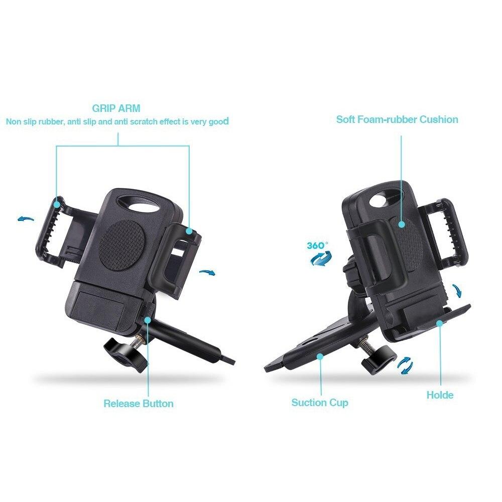 Telefon Autohalter Auto GPS-Halter CD-Halter Handy-Ständer - Handy-Zubehör und Ersatzteile - Foto 5