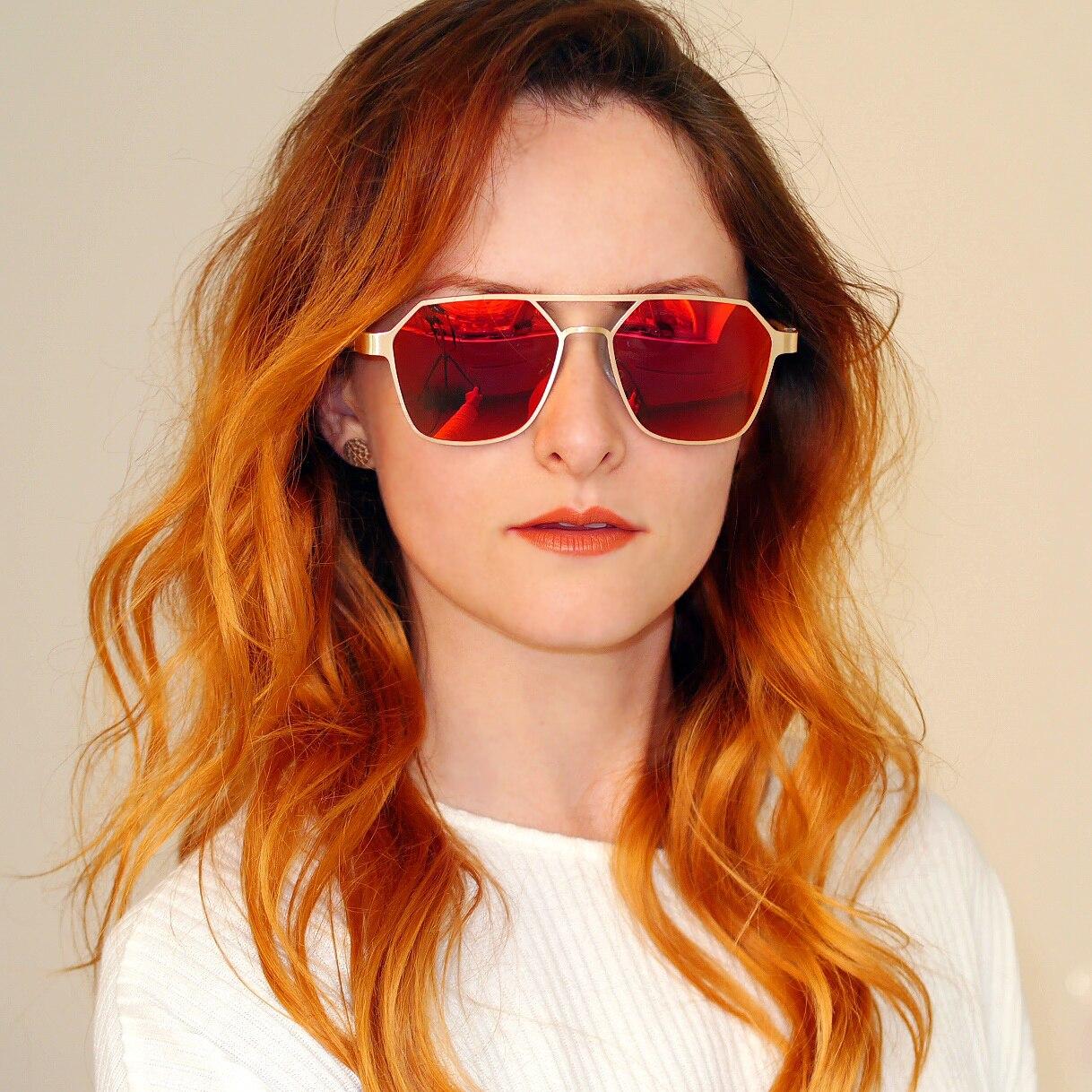 Bobo pássaro óculos de sol dos homens das mulheres de madeira óculos de sol polarizados do sexo feminino masculino metal lunette soleil femme eyewear em presentes caixa de madeira