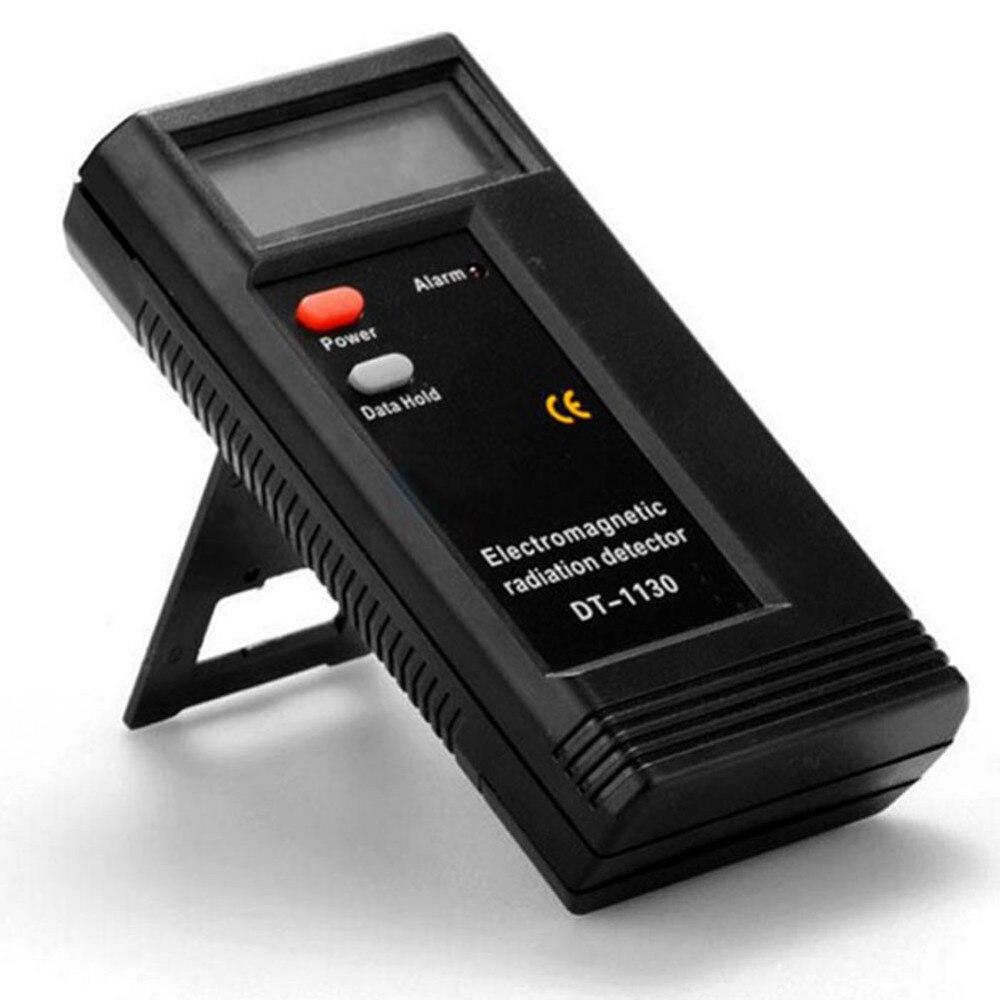 Detector de radiación electromagnética Digital LCD profesional EMF medidor dosímetro probador de instrumentos de medición de radiación