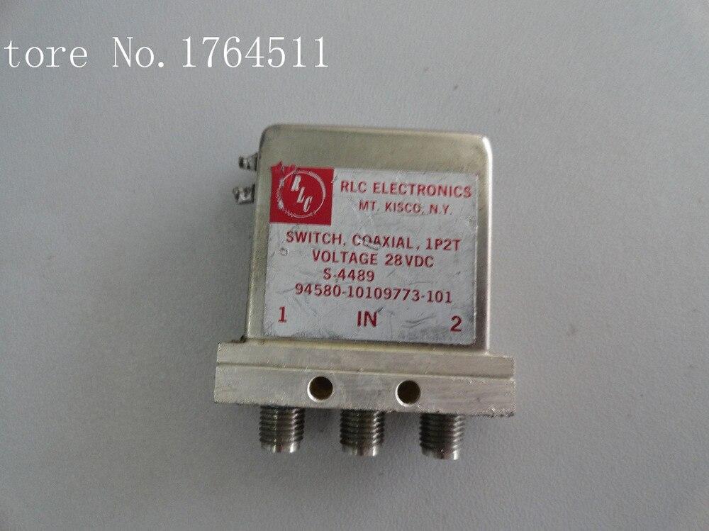 [BELLA] RLC S-4489 DC-18GHZ SPDT 28V