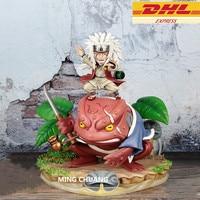 10 Наруто Джирайя статуя гама Sennin бюст Uzumaki NARUTO ученик GK фигурку Коллекционная модель Toy BOX D728