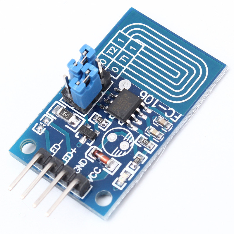 Dimmer capacitivo led 2 peças, módulo de