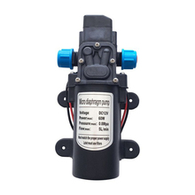 DC 12V 60W 5L/min High Pressure Electric Water Pump Diaphragm Pump Water Sprayer for Home Garden Car Washer Agricultural 1pc dc 12v black water pump 70 psi agricultural electric diaphragm water sprayer pumps 3 5l min for garden caravan tool mayitr