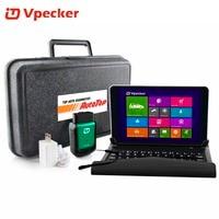 2019 Vpecker Easydiag OBD2 Wifi / Bluetooth V10.6 OBD 2 Automotive Scanner +8 inch Windows 10 Vpecker Tablet ODB 2 Autoscanner