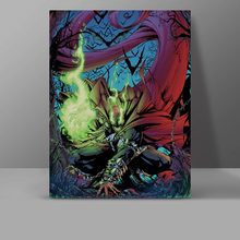 Dark Superhero Spawn Canvas Super Hero Comics Painting Wall Pictures Office HD Print Hanging