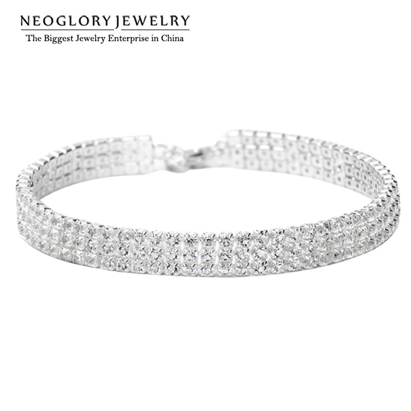 Neoglory Charm Margele Wrap Lanțuri & bratari Fata Fashion Trendy moda nunta Snaps Moda bijuterii 2017 Wedj Wedj-b P1