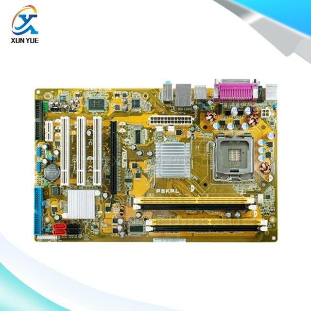 Для Asus P5KPL Оригинальный Используется Для Рабочего Материнская Плата Для Intel G31 ATX Socket LGA 775 DDR2 SATA2