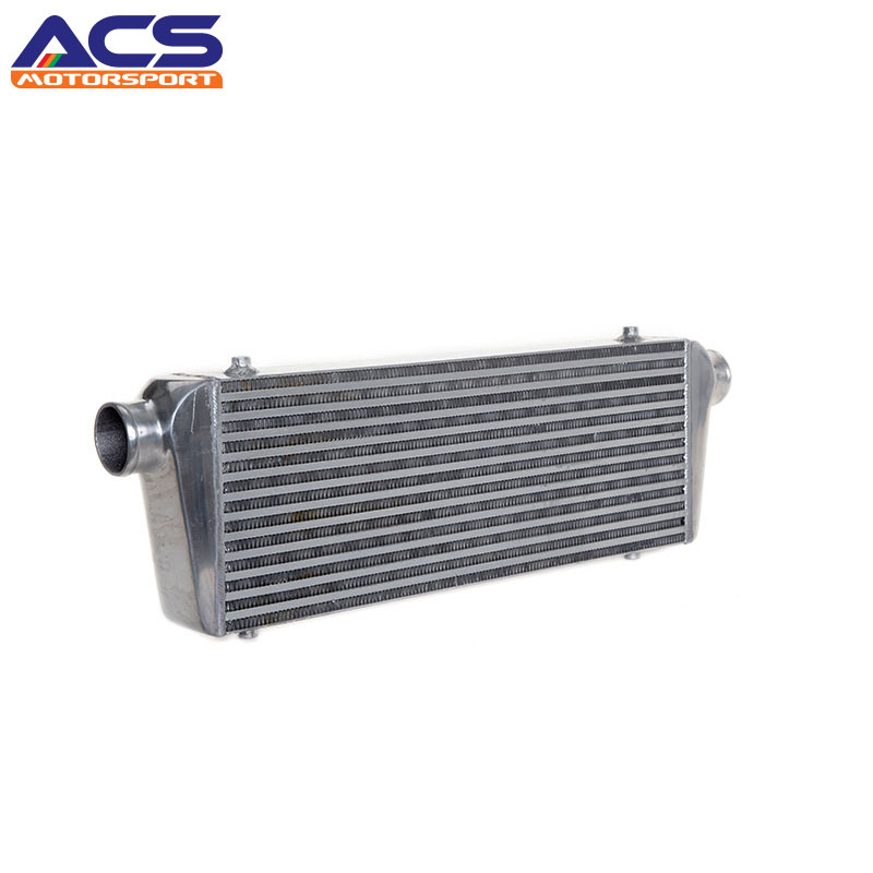 Universal Intercooler Bar And Plate Design Core Size 600x230x76mm 100% Auminium 2.5 Inches One Side Inlet/Outlet