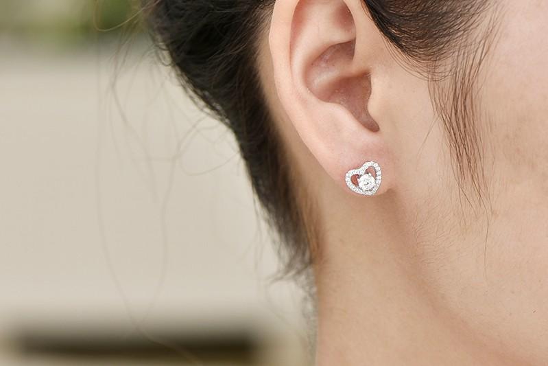 sterling silver stud earrings wholesale jewelry DE08310A (4)