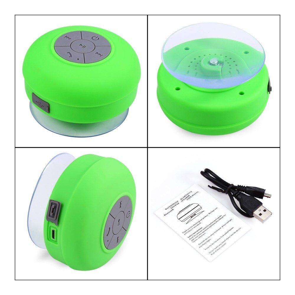Fuwudiyi Waterproof Portable Speakers Bathroom Shower Radio Bluetooth Speaker Handsfree Surround Stereo Subwoofer In From Consumer