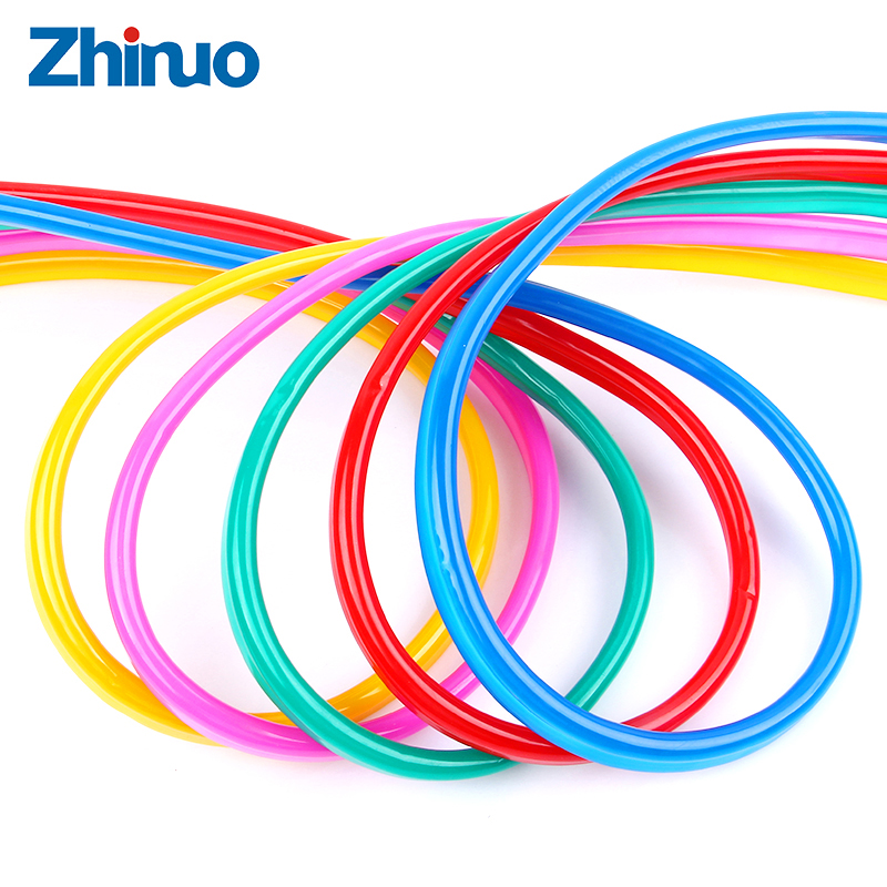 цена на ZHINUO DC 12V LED Strip Flexible Colorful Outside Neon Color Skin High Brightness Advertising Sign Line Waterproof SMD2835 LED