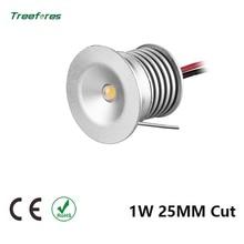 DC12V LED 1W 15MM 25MM Cut LED Downlight Sample Round Aluminum Mini Ceiling Spot Outdoor Garden Gazebo Lighting Bathroom Lamp
