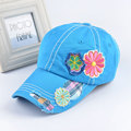 new quality Summer lady Embroidered Flower gorras baseball caps for women casquette Fashion elegant hip hop sports snapback hat