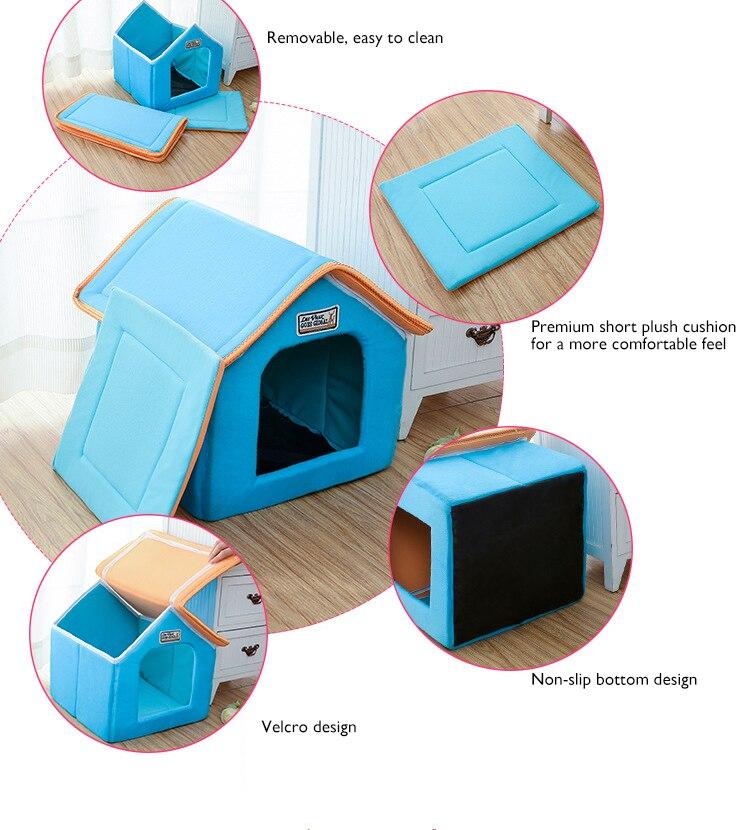 petshy cat dog house-5