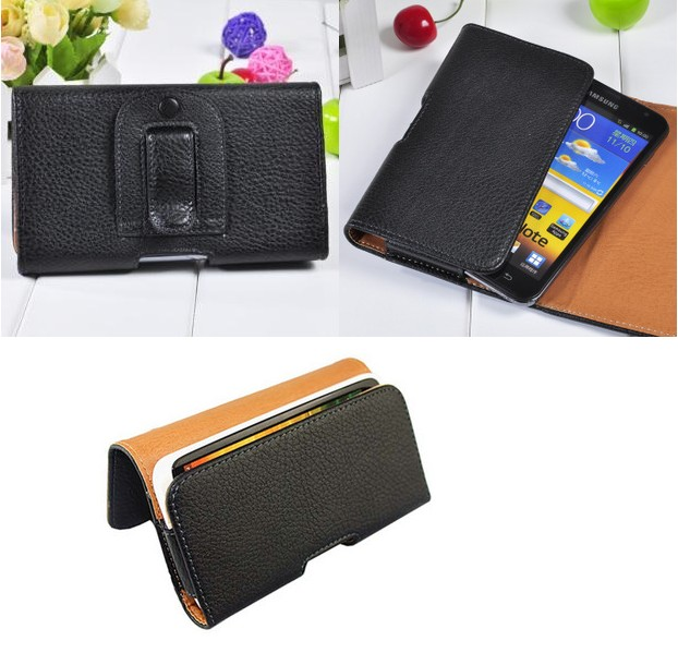 Leather Pouch Holster Belt Clip Case For Onkyo Granbeat DP