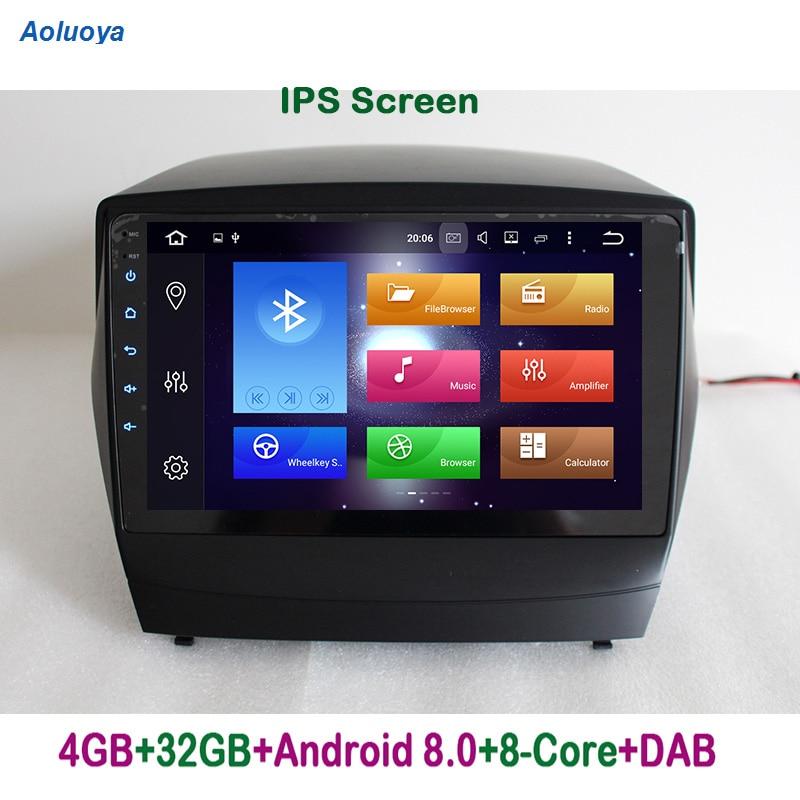 Aoluoya IPS 4GB RAM 32G ROM Octa Core Android 8,0 Bil DVD Radio - Bilelektronik