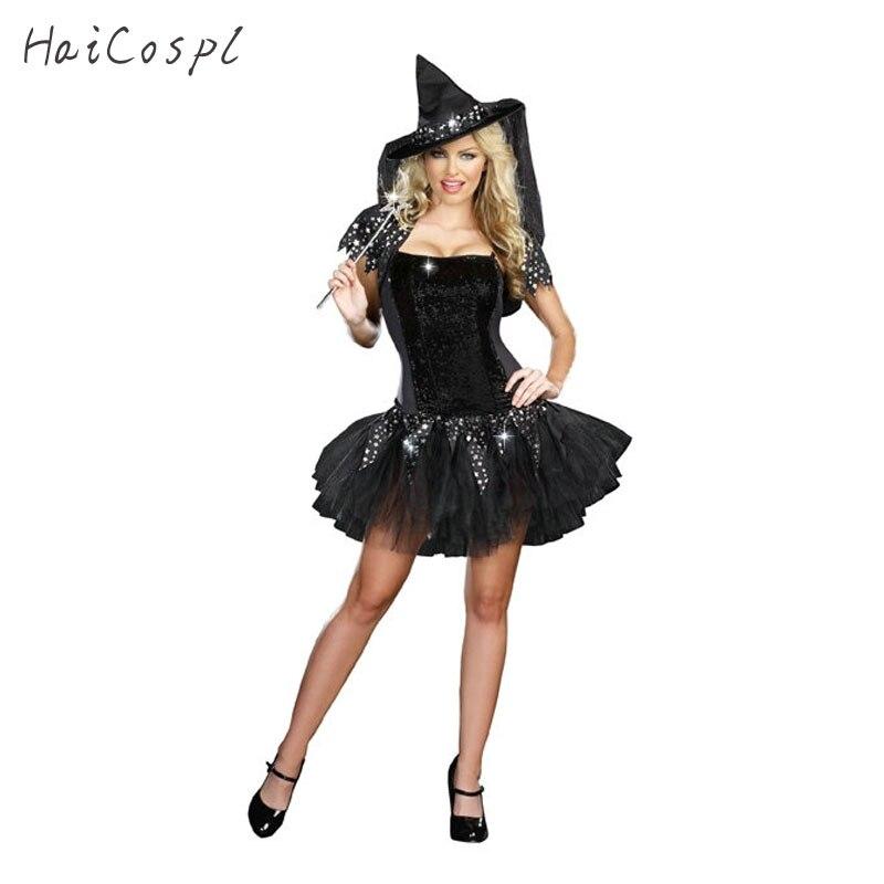 Diamanti Strega Costume Per Le Donne Adulte Di Halloween Di Carnevale In Uniforme Sexy Di Alta Qualità Del Vestito Operato Del Partito Di Cosplay