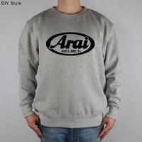 ARAI LOGO Sweatshirts Thick Combed Cotton