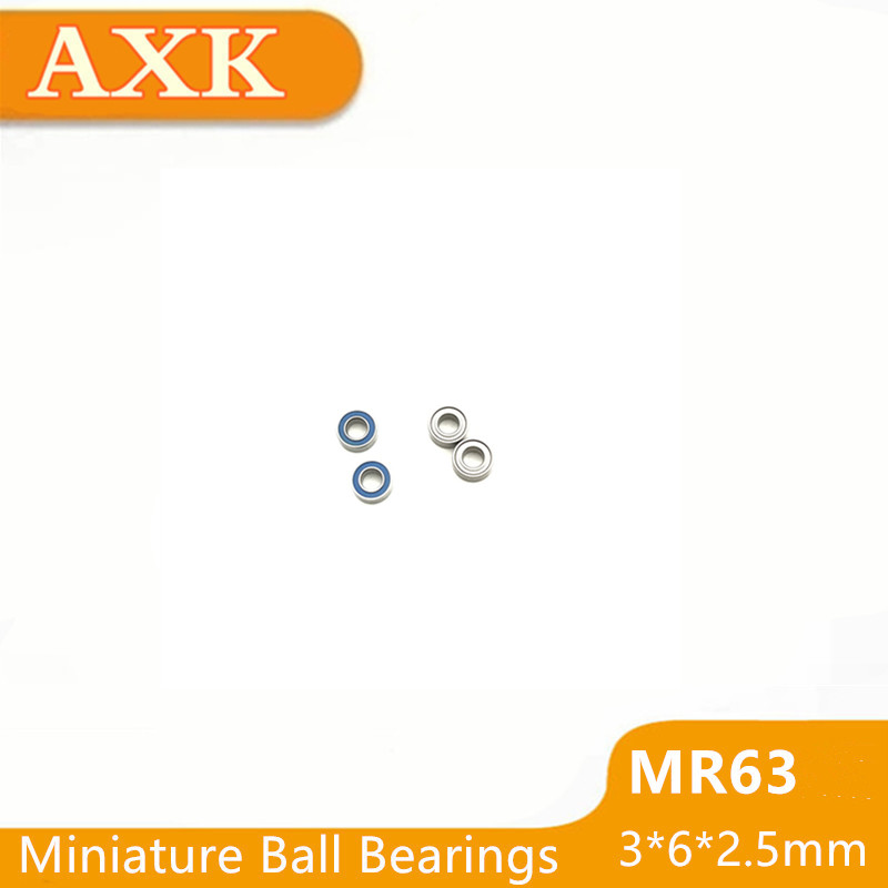 Persevering 2019 673-2z 673zz Mr63 Mr63zz Mr63rs Mr63-2z Mr63z Mr63-2rs Zz Rs Rz 2rz Deep Groove Ball Bearings 3 X 6 2.5mm High Quality To Win A High Admiration Hardware