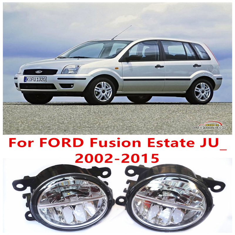 For FORD Fusion Estate JU_  2002-2015  10W Fog Light LED DRL Daytime Running Lights Car Styling lamps