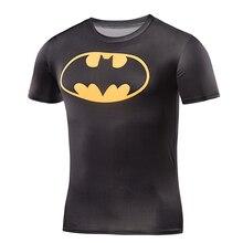 Мужская рубашка с короткими рукавами супермен Капитан Америка Футболка мужской/женский весело графики 3D случайно шею Футболку плотно рубашка