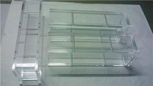 Prototype rapide en plastique de pièces d'usinage de CNC sur mesure