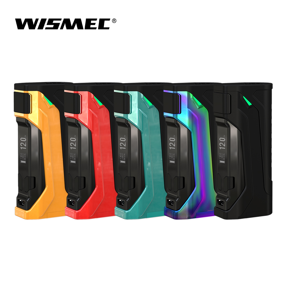 [USA Warehouse]Wismec CB-80 Mod Box 80W Output Vape Box Mod Support VW/Bypass/TC-Ni/TC-Ti/TC-SS/TCR mode electronic cigarette педаль tc electronic honey pot fuzz