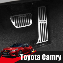 Car Accelerator Gas Pedal Brake Non Slip Pads Cover At For Toyota Camry 2006