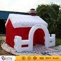 Бинго 3x3 м надувной дом рождество надувной санта-клауса мультфильм настроены для рождественский вечер украшения фестиваль игрушка