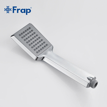 Frap Luxury Wall Mounted Rain Shower faucets Set Square Stainless steel top spray