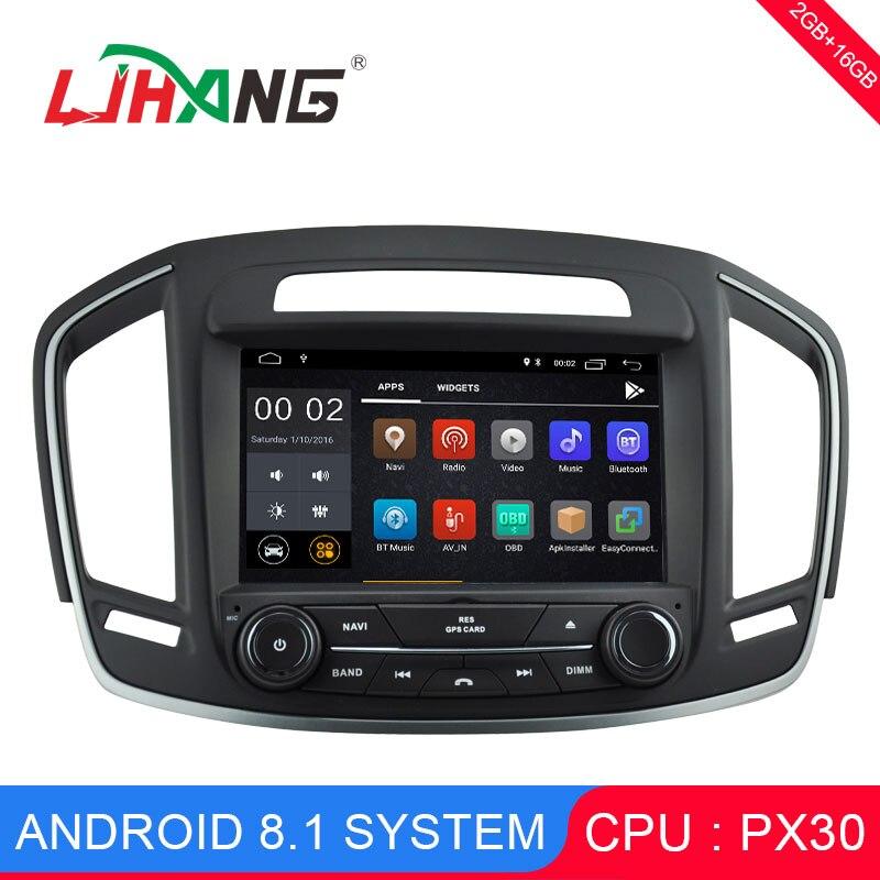 LJHANG 2 din Android 8,1 автомобильный dvd плеер для OPEL INSIGNIA 2014 2017 gps автомобиль для радио, навигации headunits авто стерео зеркало Ссылка USB RDS