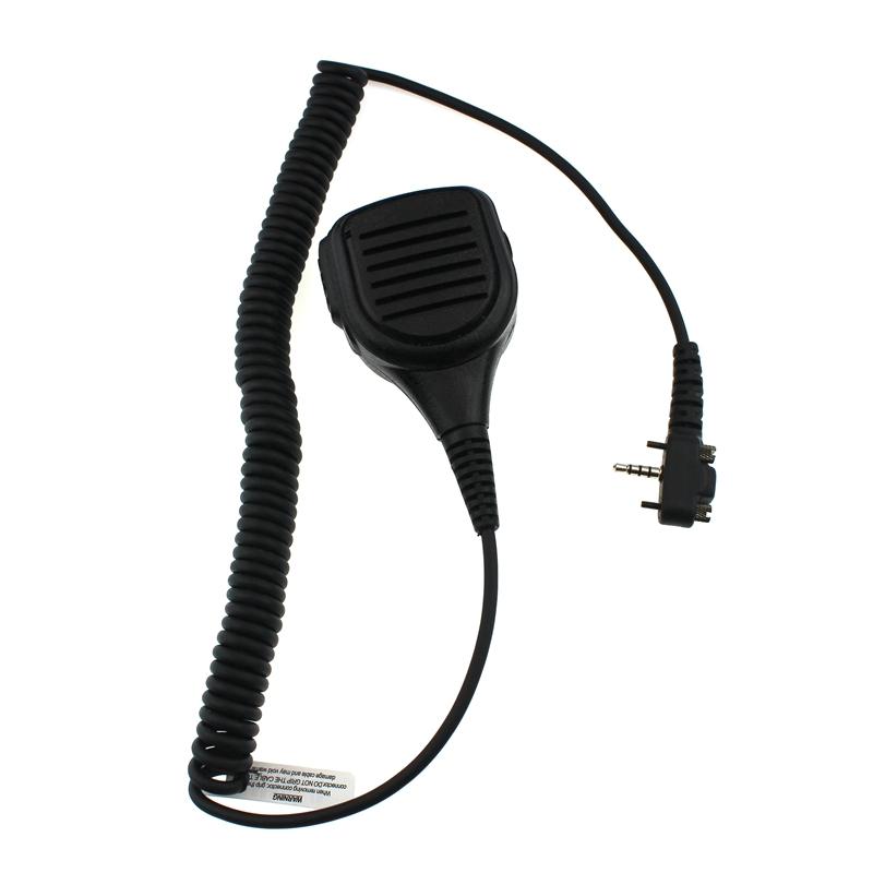 Rainproof Shoulder Speaker Walkie Talkie Mic Microphone For Vertex Standard Radio VX-231 VX140//180/210/210A/231/246/410/426