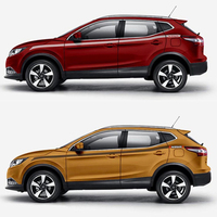 World Datong Racing Sport Stripes For Nissan QASHQAI SPORT car Both side body sport auto stickers