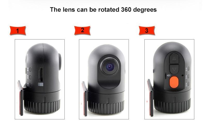 Original Podofo  Mini Car DVR Camera Dashcam Full HD 1080P Video Registrator Recorder G-sensor Night Vision Dash Cam Blackbox1