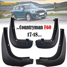OE Styled Car Mud Flaps For Mini Countryman F60 2017 2018 2019 Mudflaps Splash Guards Mud Flap Mudguards 82162410137 82162410138(China)