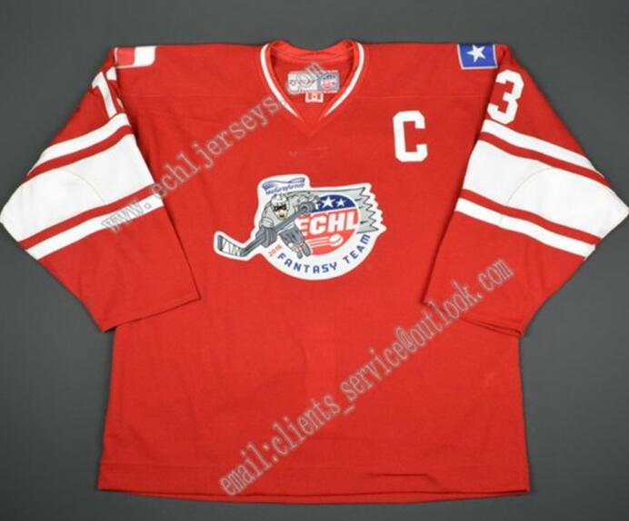 12616ef3b SexeMara Allen Americans Chad Costello Aaron Gens Steffes Customize any  name number hockey jersey