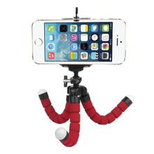 SHOOT Sponge Flexible Octopus Tripod For Phone with Phone Holder Tripod for iPhone Samsung Huawei Xiaomi Lenovo Smart Mobile