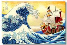 One Piece Sea Ship Modern Stylish Custom Fashion Tatoo On Poster Home Print Size Wall Poster New U1-557 Multi Size