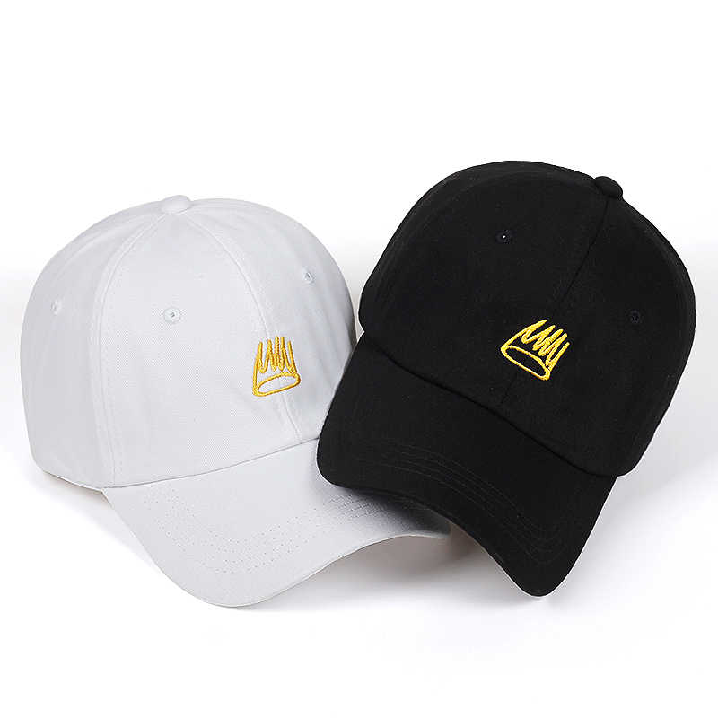 f0e3a0300 2018 New Born Sinner Crown Baseball Cap Curved Bill embroidery Dad Hat  Cotton Cole World of Good Quality Brand Cap Men Women