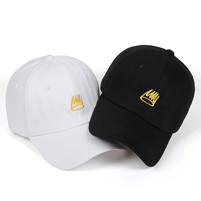 163110e689e 2018 New Born Sinner Crown Baseball Cap Curved Bill embroidery Dad Hat  Cotton Cole World of Good Quality Brand Cap Men Women