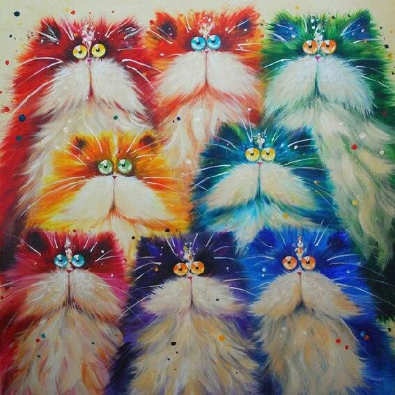 5400 Koleksi Gambar Mosaik Hewan Kucing HD