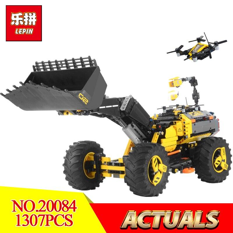 Lepin 20084 2 dans 1 Technique Série Volvo Concept chargeuse sur pneus ZEUX Legoing 42081 Modèle Blocs briques de construction jouets éducatifs