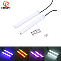 Universal Auto Car Cotton Daytime Running Lights Waterproof White Blue Purple Red Super Bright Led Fog