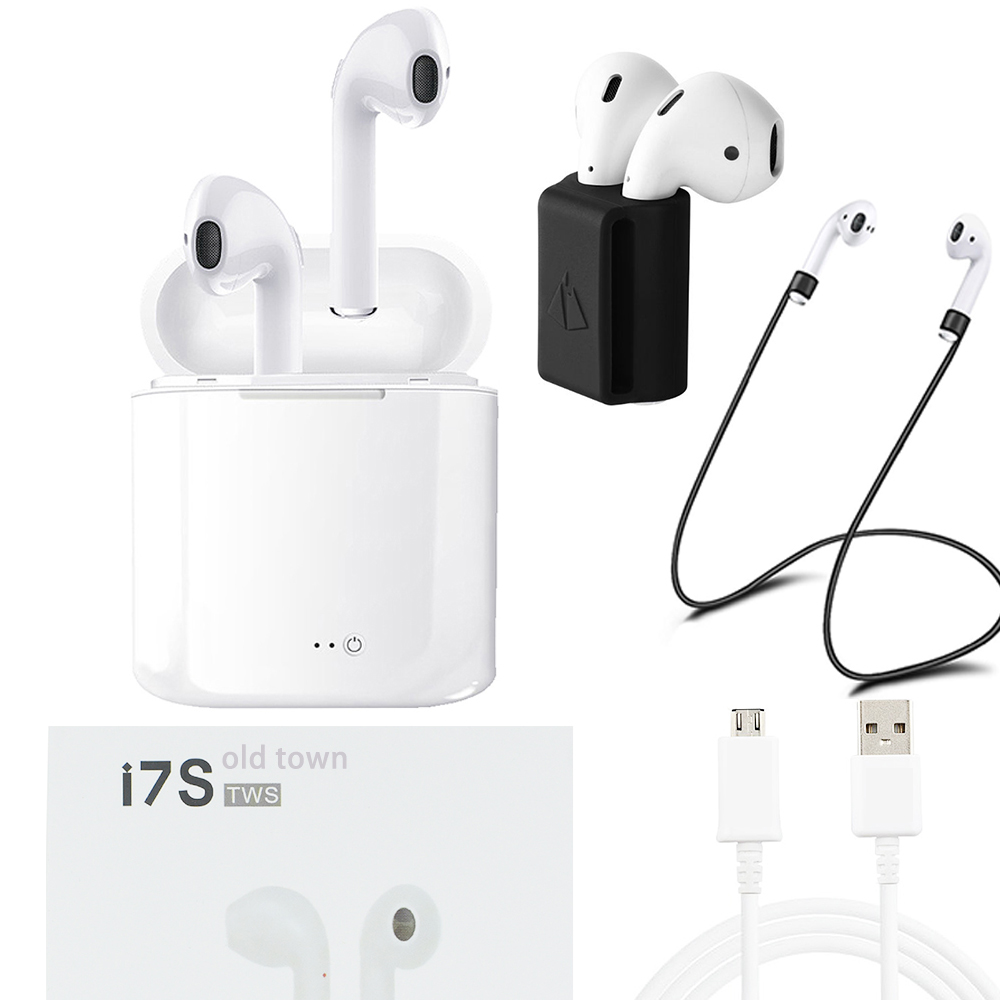 old town for apple Xiaomi sony headset air ear pods i7s TWS Wireless Earphones Bluetooth earpods hbq Hifi Earbuds for phone