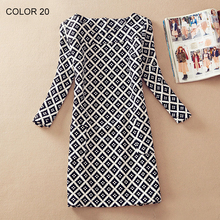 Ladies Long Sleeve Casual Dress
